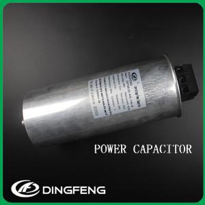 Columniform condensador de auto-sanación corrección del factor de potencia