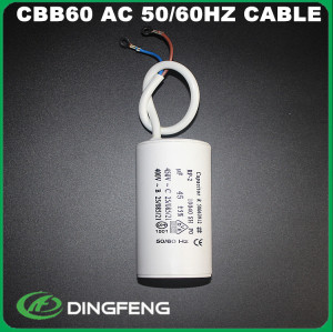 Ac motor capacitor 30 uf 400vac 60 uf 250 v 50/60 hz