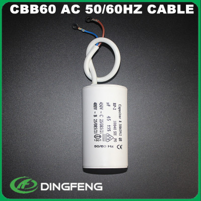 Condensadores 15 uf 400 v arranque ac condensador de funcionamiento 7.5 uf