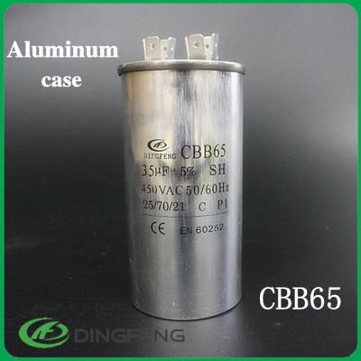 250vac condensador cbb65 100 uf ac capacitor 450 v 60 uf