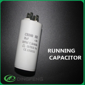 Bomba de agua condensador del motor cbb60 12 uf condensador