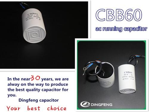 500 uf ac condensador del motor cbb60 profunda weill bomba de agua