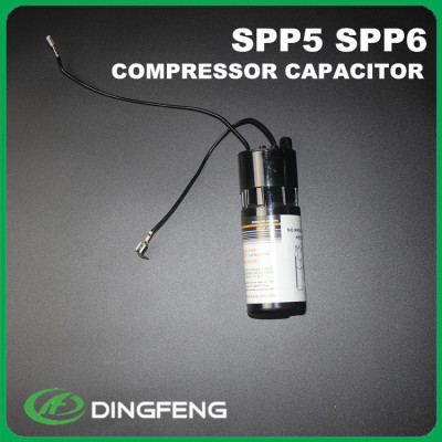 Spp6 cd60a electrolítico condensador de arranque del motor 125 v
