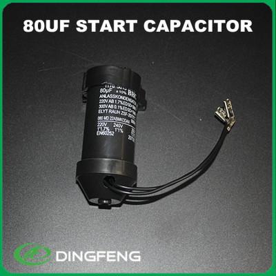 330 uf condensador de película cd60 condensador de arranque del motor de ca