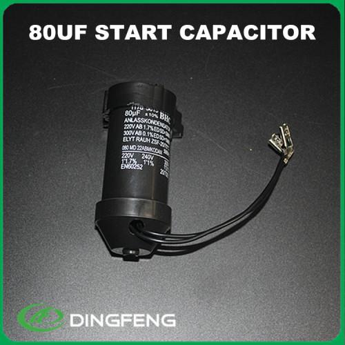 250 v condensador electrolítico condensador de arranque 450 voltios