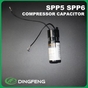 Condensador electrolítico de aluminio ac motor start capacitor 450mfd
