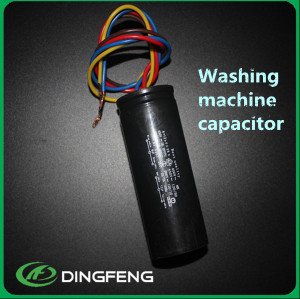 12 + 5 uf carcasa de plástico lavadora condensador cbb60