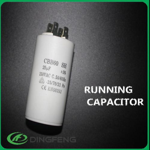 Fabricación condensador cbb60 zhejiang taizhou en60252-1