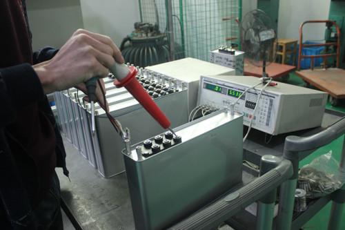 50 kvar banco condensador condensador de energía trifásico