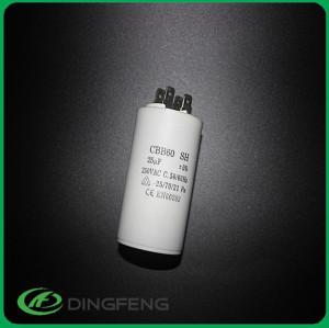50/60 hz 25/70/21 resina negro comprar motor run capacitor cbb61
