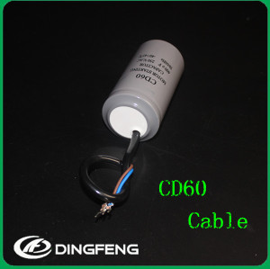 De cd60a gastos de ac motor start capacitor cd60 capacitor 200