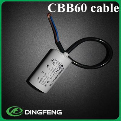 10mf condensadores 2 cable rojo 250 v condensador cbb60