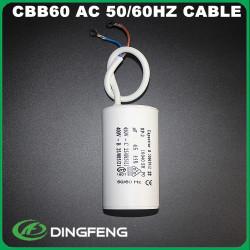 Cbb60 condensador cbb60 blanco caja de plástico en60252 1