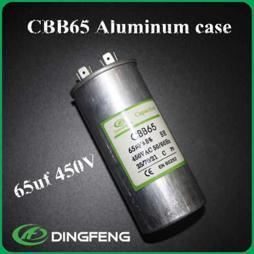 Cbb65 condensador 370 v rohs condensador cbb65a-2 sh