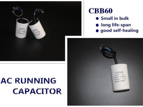 Parte motor cbb60 condensador del motor condensador 50 uf 250 v 50-60 hz