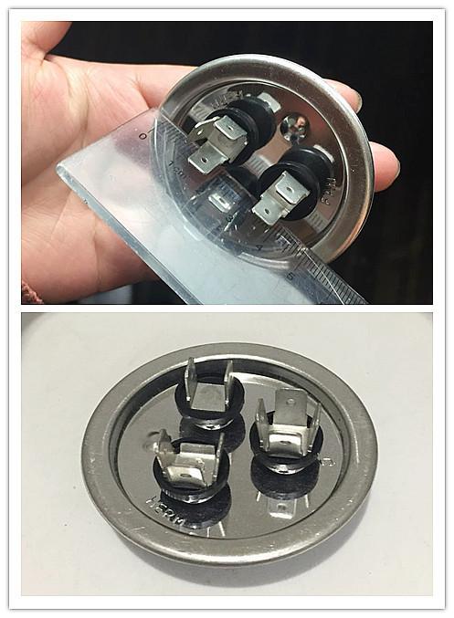 Condensador tornillo terminal refrigerador condensador del motor