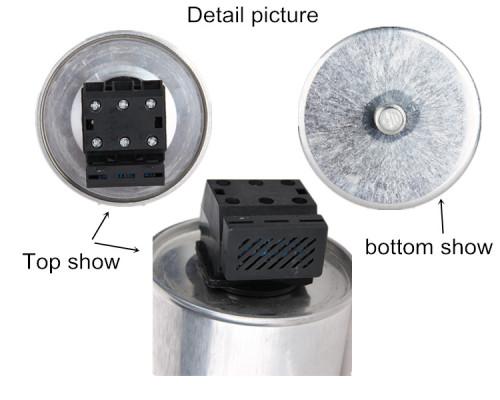 Caja para columniform condensadores condensador de película 3 fase