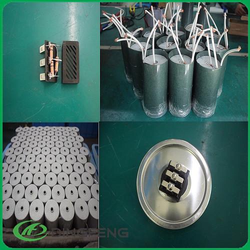 Banco banco con 50 kvar condensador condensador de fase 3