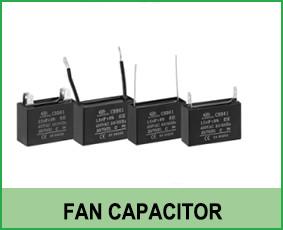 condensador del ventilador