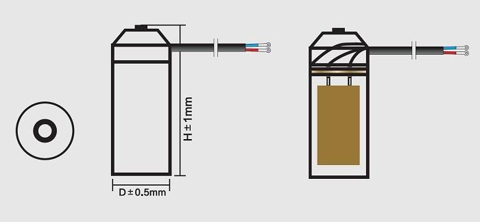 condensador de arranque del motor