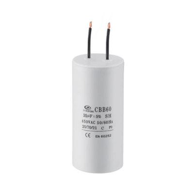 motor de corriente alterna de corriente alterna 2 cables 450v CBB60 120uf EN60252 250v