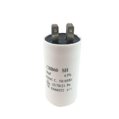 Cbb60 400v película capacitor fabricante 240v 24uf condensador