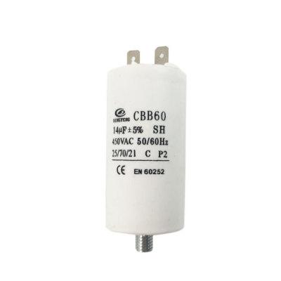مكثف مصنع مكثف cbb60 ل en60252 المحرك التعريفي 30uf 50 / 60hz 25/70/21