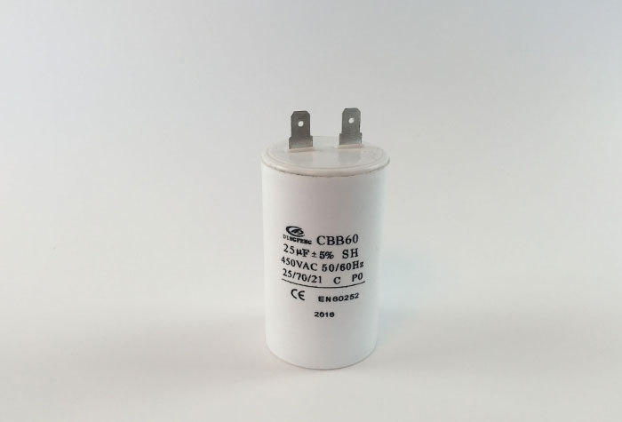 AC RUNNING CAPACITOR TWO PINS
