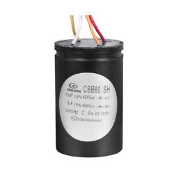 cbb60 4 أسلاك الغسالة المكثفات ac موتور مكثف 12 + 5uf 25/70/21 50/60 هرتز