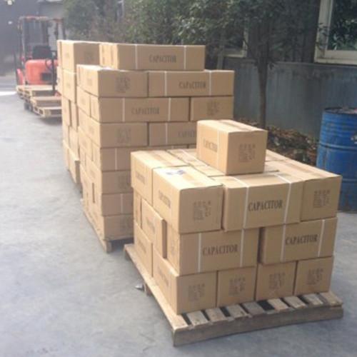 مكثف cbb60 المصنوعة في الصين البوليستر فيلم أسلاك مكثف مايلر 450v