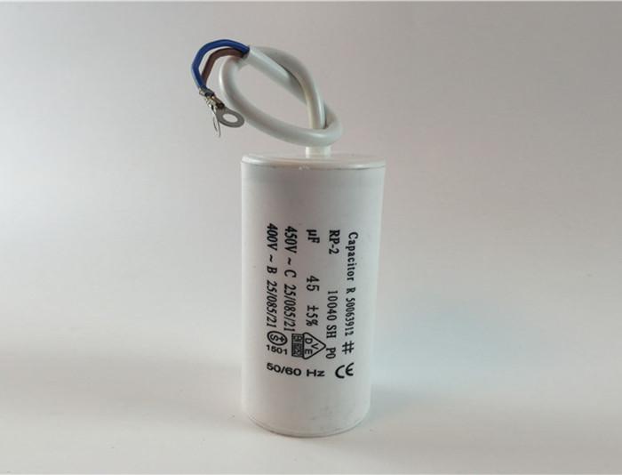 condensador cbb60 con cable cooper anillo