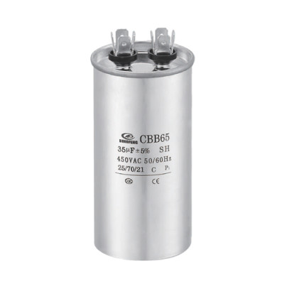 ACEITE LLENADO cbb65a-1 película MICROFARAD capacitor y cbb65a 1 aire acondicionado capacitor 35uf