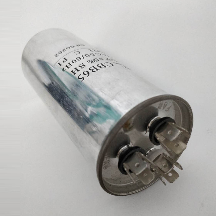 película de polipropileno condensador de tres pines