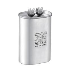 Condensador de aire acondicionado de microfarad AC condensador cbb65 450v 60uf rohs capacitor