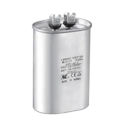ac مكيف الهواء microfarad مكثف cbb65 450v 60uf rohs مكثف
