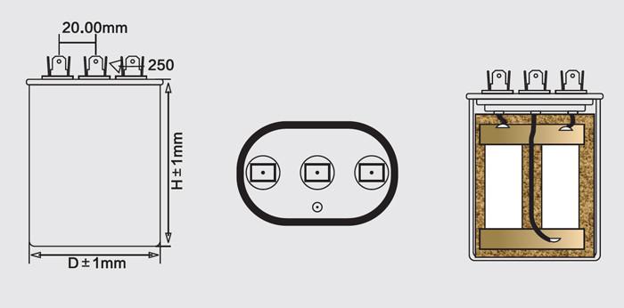 acondicionador de aire condensador anatomía
