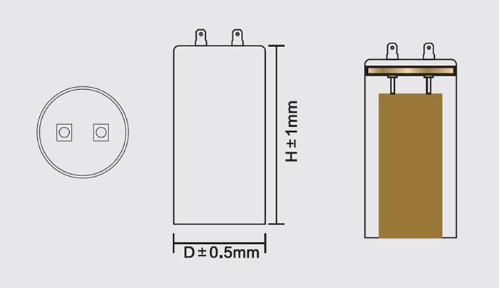 motor de arranque de la anatomía del condensador