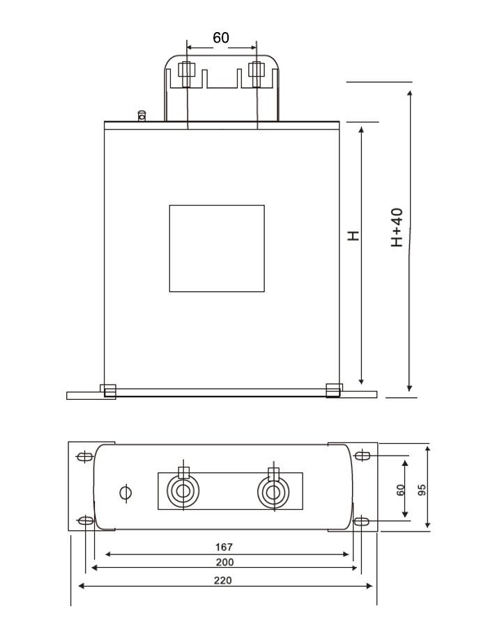 condensador de potencia 2 anatomia de fijacion