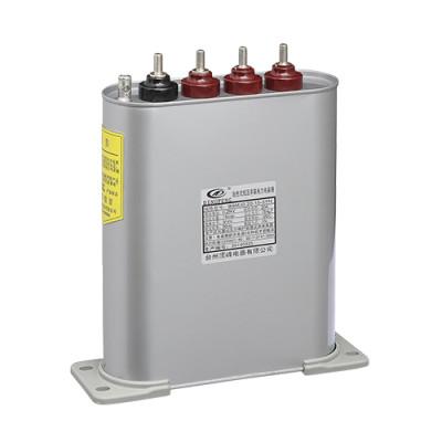 Dingfeng 10kvar potencia capacitor bsmj0.23-5-3yn 3fase uso en bancos de condensadores kvar