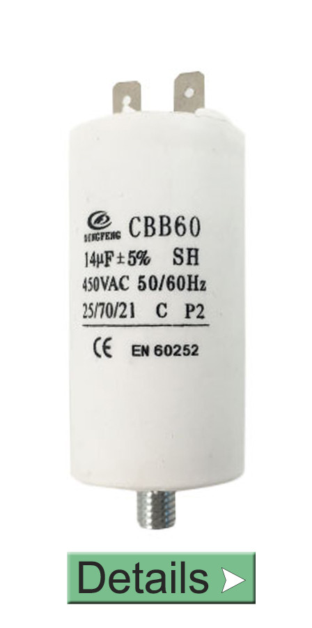 CBB60 CAPACITOR FOR INDUCTION MOTOR