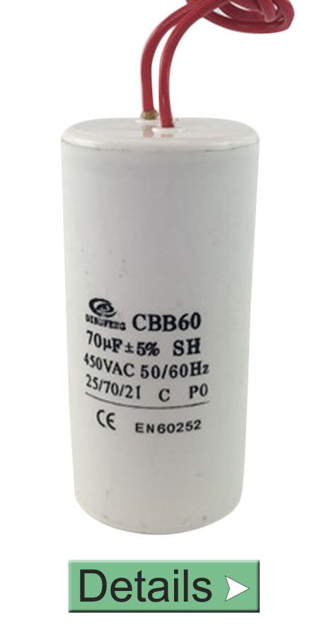 POLYPROPYLENE CAPACITOR CBB60