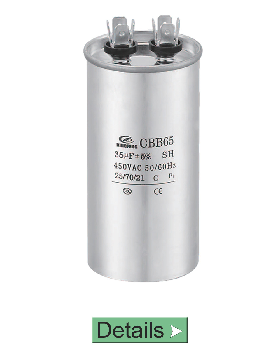 OIL FILLED CBB65 FILM MICROFARAD CAPACITOR