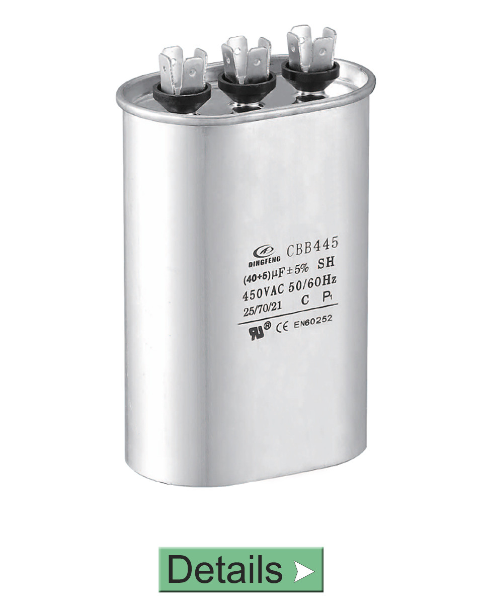 AC AIR CONDITIONER MICROFARAD CAPACITOR