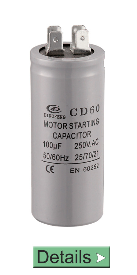 CD60 MOTOR STARTING CAPACITOR WITH 4 PINS TERMINAL LOWES
