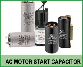 ac motor start capacitor