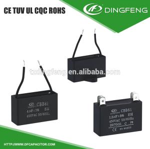 Ventilador 3.5 uf cbb61 condensador de película 630 v