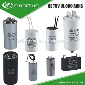 Condensador para el motor en60252 factor condensador