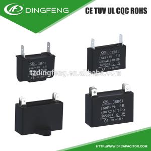 Generadores de agua cbb61 condensador de película condensador 250vac