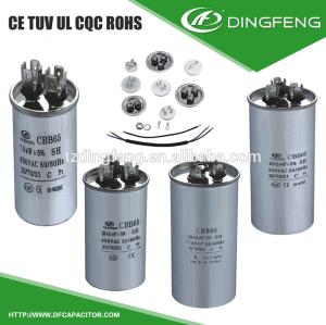 A prueba de explosiones de condensadores cbb65 sh p1 p2 50/60 hz cbb65 30 uf 450vac condensador