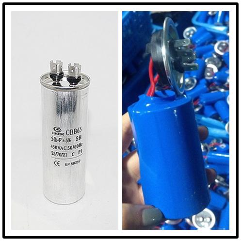Condensador cbb65 60 + 5 uf condensador para refrigerador